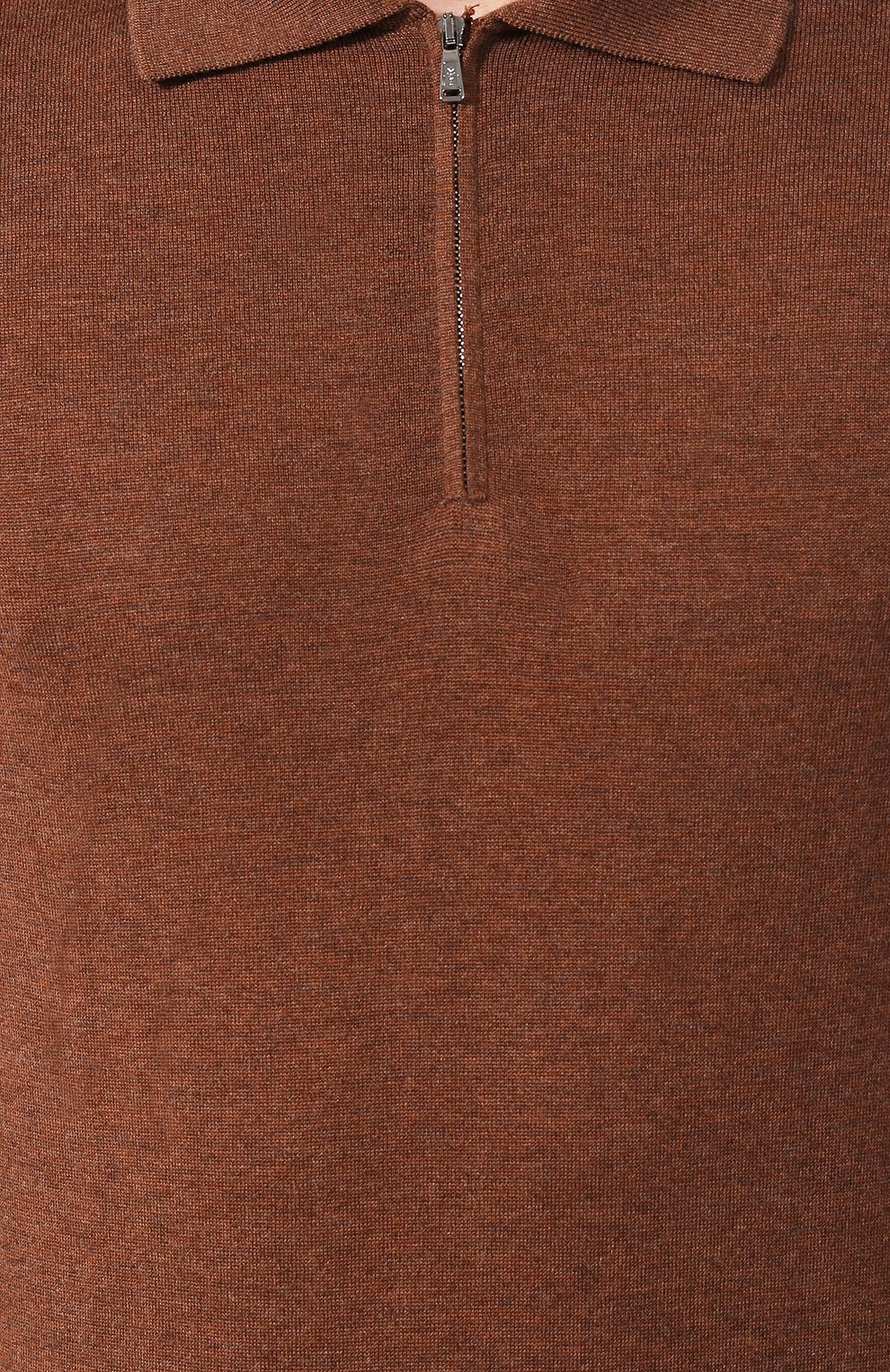 Поло из смеси шерсти и кашемира | Фото №5