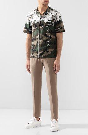 Мужские джинсы GIORGIO ARMANI бежевого цвета, арт. 6GSJ67/SN15Z | Фото 2