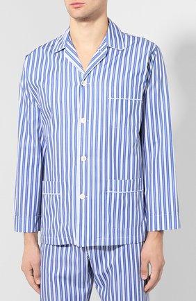 Мужская хлопковая пижама ROBERTO RICETTI синего цвета, арт. VENEZIA/LX2303 | Фото 2