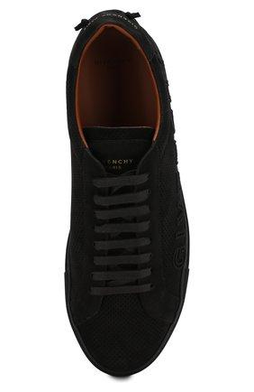 Замшевые кеды Givenchy черные | Фото №5