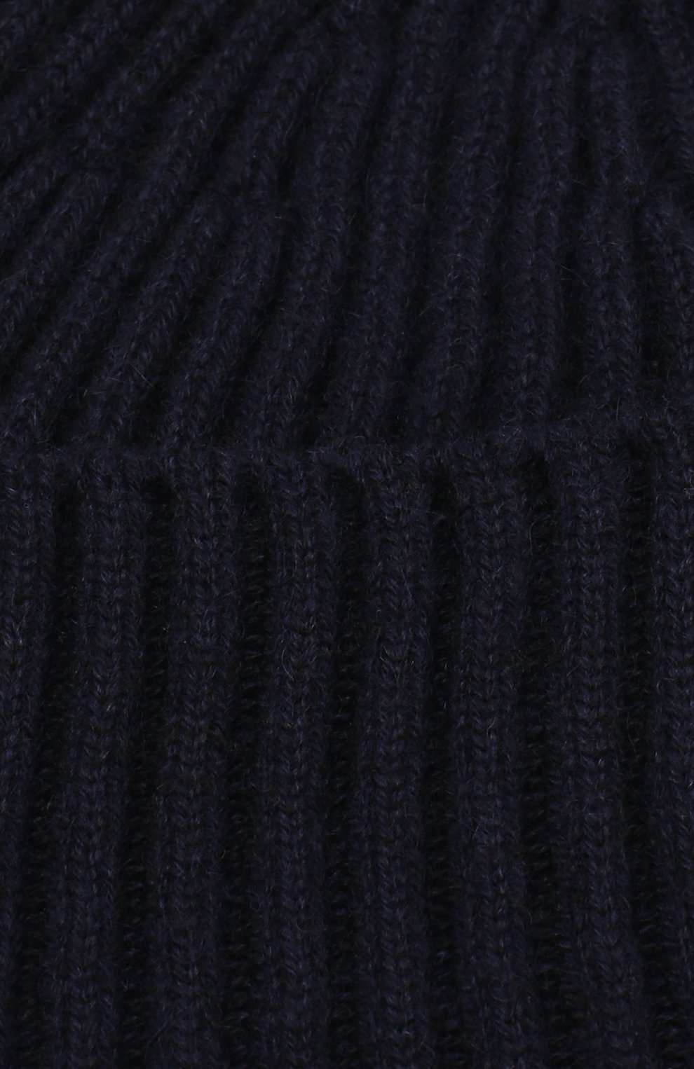 Мужская кашемировая шапка BRUNELLO CUCINELLI темно-синего цвета, арт. M2293900 | Фото 3