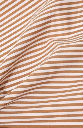 Мужской хлопковый платок BRUNELLO CUCINELLI светло-коричневого цвета, арт. ML8480091 | Фото 2