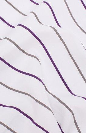Мужской хлопковый платок BRUNELLO CUCINELLI фиолетового цвета, арт. ML8490091 | Фото 2