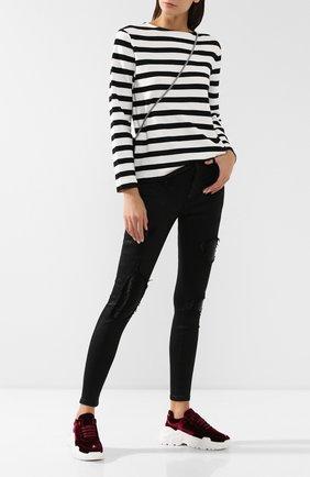 Женские джинсы PHILIPP PLEIN черного цвета, арт. WDT1170 | Фото 2