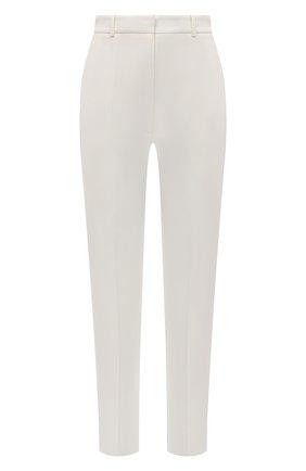 Женские брюки ALEXANDER MCQUEEN белого цвета, арт. 585809/QEAAA | Фото 1