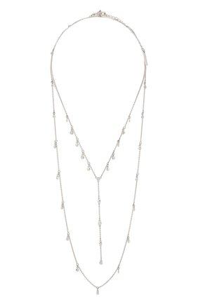 Женское ожерелье layer SWAROVSKI серебряного цвета, арт. 5509171 | Фото 1