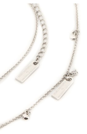 Женское ожерелье layer SWAROVSKI серебряного цвета, арт. 5509171 | Фото 2