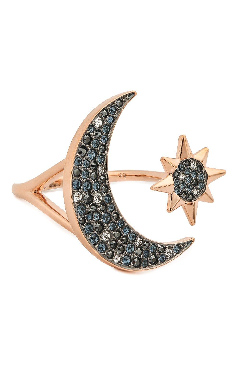 Женское кольцо moon SWAROVSKI серебряного цвета, арт. 5499613   Фото 1