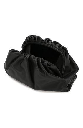 Женский клатч pouch  BOTTEGA VENETA черного цвета, арт. 576227/VBIU5 | Фото 4
