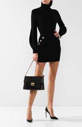 Женская сумка gv3 medium GIVENCHY черного цвета, арт. BB501DB033 | Фото 2