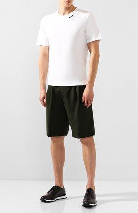 Мужские кожаные кроссовки BERLUTI черного цвета, арт. S4908-001 | Фото 2