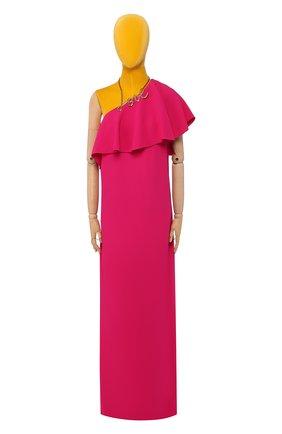 Женское платье из вискозы LANVIN фуксия цвета, арт. RW-DR2094-2877-P16 | Фото 1