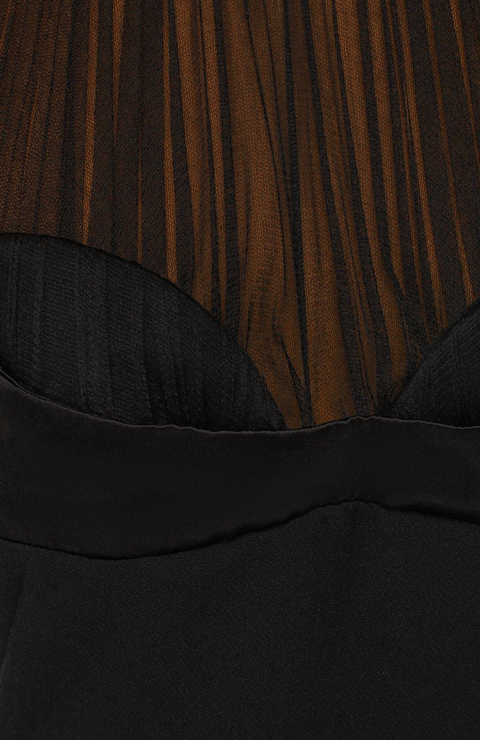 Платье из смеси вискозы и шерсти | Фото №2