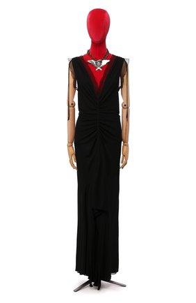 Женское платье из вискозы TOM FORD черного цвета, арт. AC0530/T15026 | Фото 1
