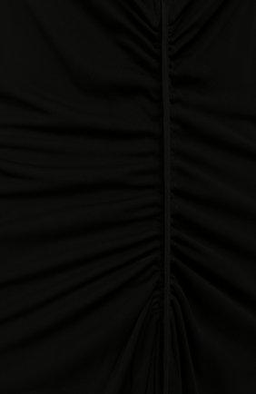 Женское платье из вискозы TOM FORD черного цвета, арт. AC0530/T15026 | Фото 2