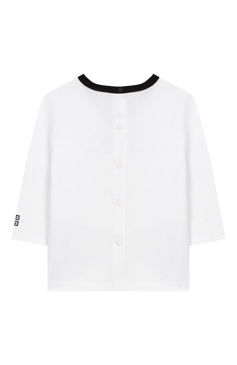 Комплект из 3-х предметов Givenchy черно-белого цвета | Фото №3