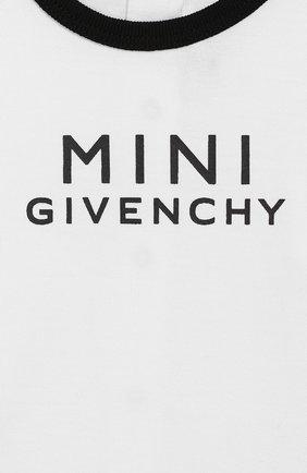 Комплект из 3-х предметов Givenchy черно-белого цвета | Фото №4