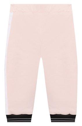 Детский комплект из кардигана и брюк GIVENCHY розового цвета, арт. H98057 | Фото 6