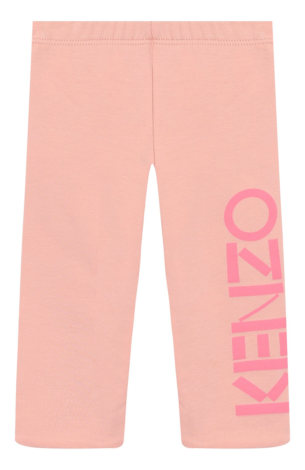Детские двусторонние леггинсы KENZO розового цвета, арт. KP24017 | Фото 1