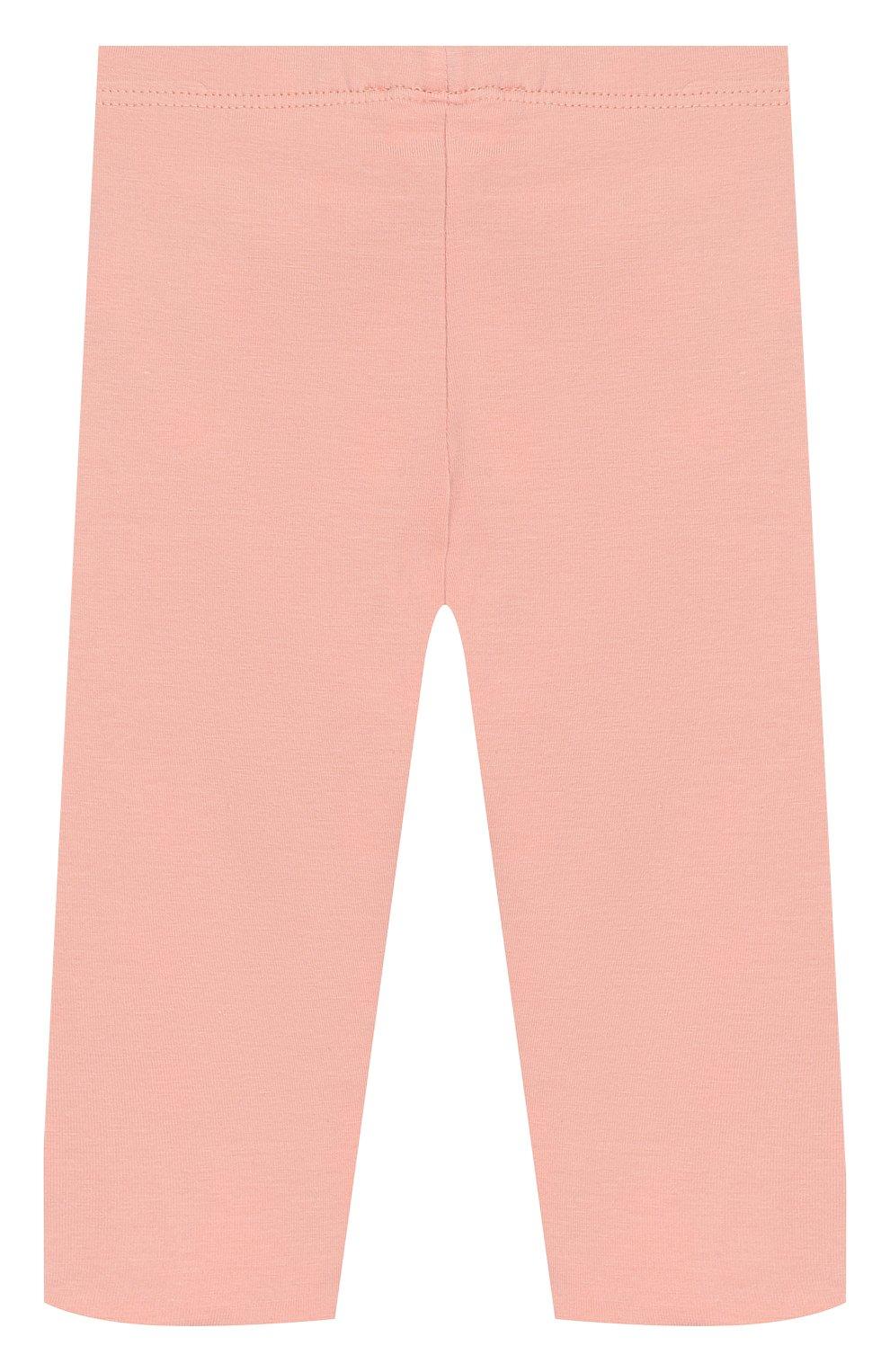 Детские двусторонние леггинсы KENZO розового цвета, арт. KP24017 | Фото 2