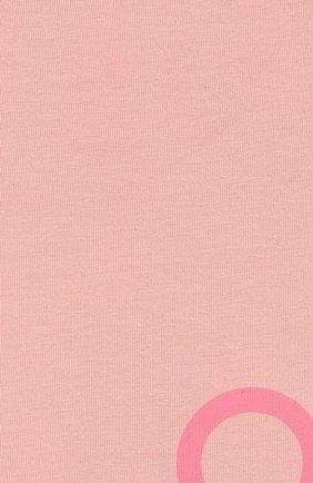 Детские двусторонние леггинсы KENZO розового цвета, арт. KP24017 | Фото 3