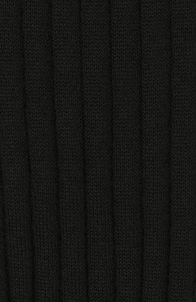 Женские шерстяные гольфы VALENTINO черного цвета, арт. SB3KI00E4VK | Фото 2