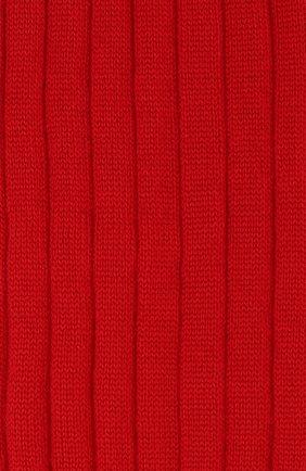 Женские шерстяные гольфы VALENTINO красного цвета, арт. SB3KI00E4VK | Фото 2