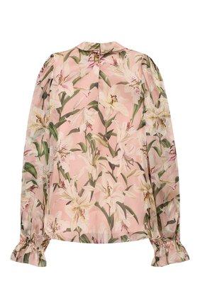 Шелковая блузка | Фото №2