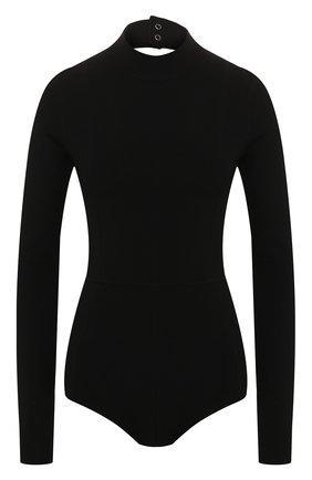 Женское боди HELMUT LANG черного цвета, арт. J04HW701 | Фото 1