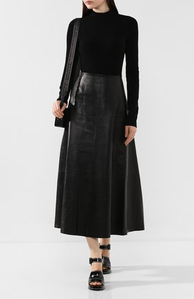 Женское боди HELMUT LANG черного цвета, арт. J04HW701 | Фото 2