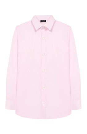 Детская хлопковая рубашка DAL LAGO светло-розового цвета, арт. N402/1165/4-6 | Фото 1
