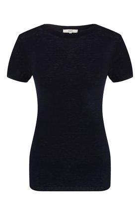 Женская шерстяной топ VINCE темно-синего цвета, арт. V585178185 | Фото 1