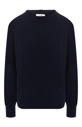 Женская кашемировый пуловер VINCE темно-синего цвета, арт. V586078205 | Фото 1