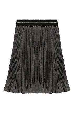 Детская плиссированная юбка ALETTA темно-серого цвета, арт. AF999337LL/9A-16A | Фото 2