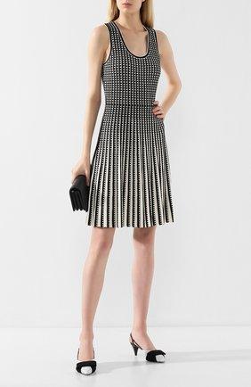 Женское платье MICHAEL MICHAEL KORS черно-белого цвета, арт. MU98YWJ5ZV | Фото 2