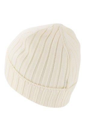 Мужская шерстяная шапка C.P. COMPANY белого цвета, арт. 07CMAC214A-005509A | Фото 2