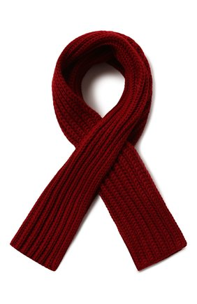 Мужской кашемировый шарф LORO PIANA красного цвета, арт. FAI4103 | Фото 1