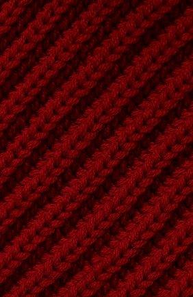 Мужской кашемировый шарф LORO PIANA красного цвета, арт. FAI4103 | Фото 2