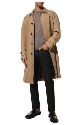 Мужской шерстяной джемпер CANALI бежевого цвета, арт. C0012/MK00077 | Фото 2