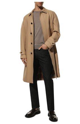 Мужской шерстяной джемпер CANALI бежевого цвета, арт. C0012/MK00077   Фото 2