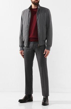 Мужские кожаные сапоги ALDO BRUE черного цвета, арт. AB6205H-BR   Фото 2