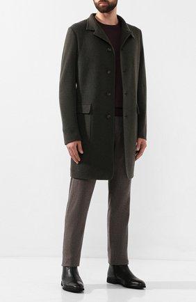Мужские кожаные сапоги ALDO BRUE черного цвета, арт. AB8520H-CM | Фото 2