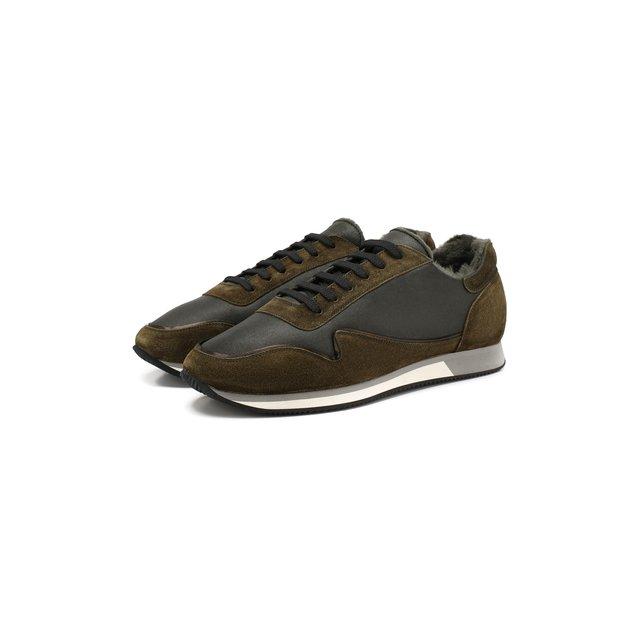 Кожаные кроссовки Aldo Brue — Кожаные кроссовки