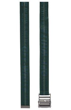 Женский текстильный ремень OFF-WHITE зеленого цвета, арт. 0WRB009E192230984242   Фото 2