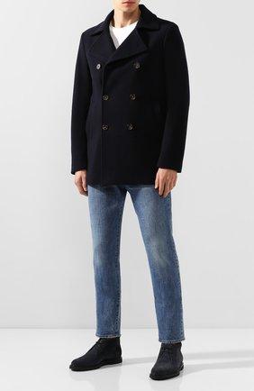 Пальто из смеси кашемира и шерсти | Фото №2
