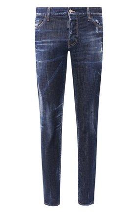Мужские джинсы DSQUARED2 синего цвета, арт. S71LB0630/S30342 | Фото 1