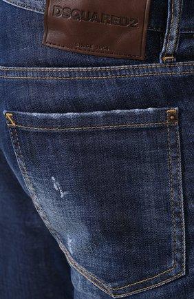 Мужские джинсы DSQUARED2 синего цвета, арт. S71LB0630/S30342 | Фото 5