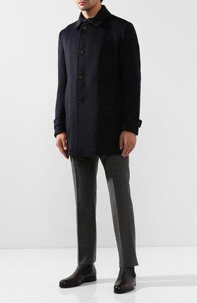 Мужские кожаные челси SANTONI черного цвета, арт. MCAG16456SI5ECGCG45 | Фото 2