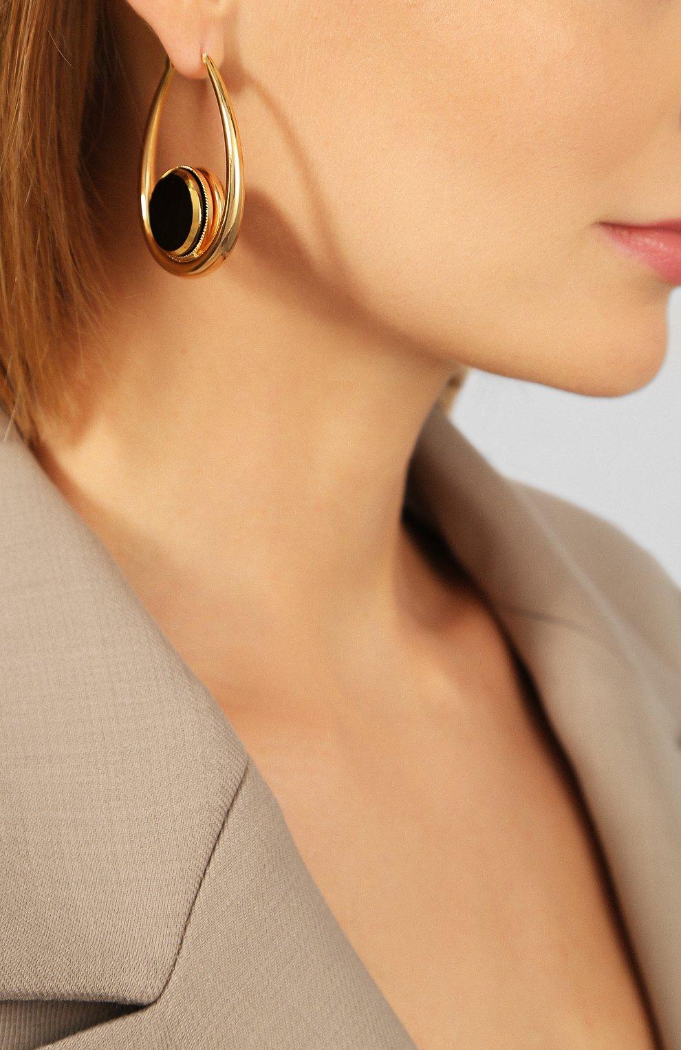 Женские серьги ANTON HEUNIS золотого цвета, арт. PHT3.06 | Фото 2