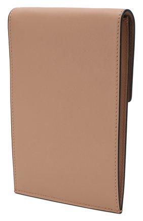 Мужского кожаный чехол для iphone valentino garavani VALENTINO бежевого цвета, арт. SW2P0S45/ZXL   Фото 2